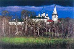 ロシア・スズダリの早春