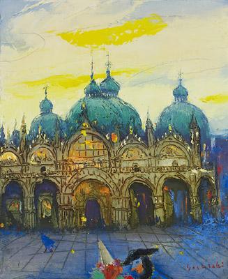 「サンマルコ広場の朝」15F