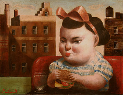 「子供とハンバーガー(ニューヨーク)」 6号