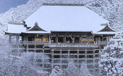 「雪の清水寺」