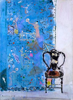 ピエール・ルシュール「屏風と黒い椅子」20P