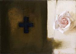 「ときの花」 ミクストメディア 4F